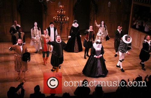 Stephen Fry, Paul Chahidi, Mark Rylance and Cast 1