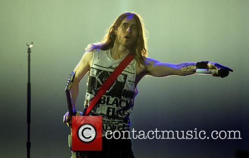 Jared Leto and 30 Seconds To Mars 10