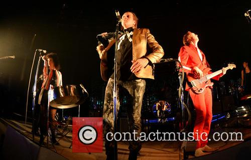 Arcade Fire perform in London