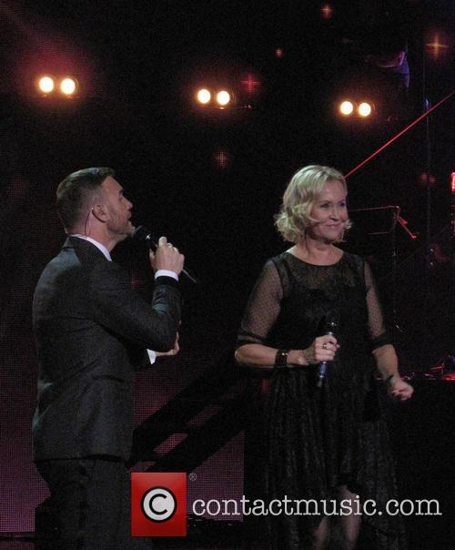Agnetha Faltskog and Gary Barlow 2