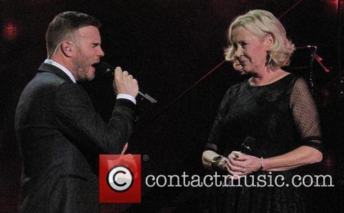 Agnetha Falkskog and Gary Barlow 1