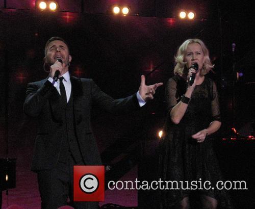 Agnetha Faltskog and Gary Barlow