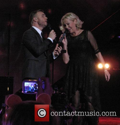 Agnetha Faltskog and Gary Barlow 6