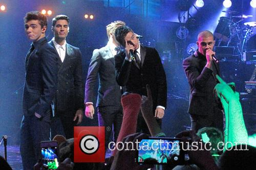 Siva Kaneswaran, Jay Mcguiness, Tom Parker, Max George and Nathan Sykes 1