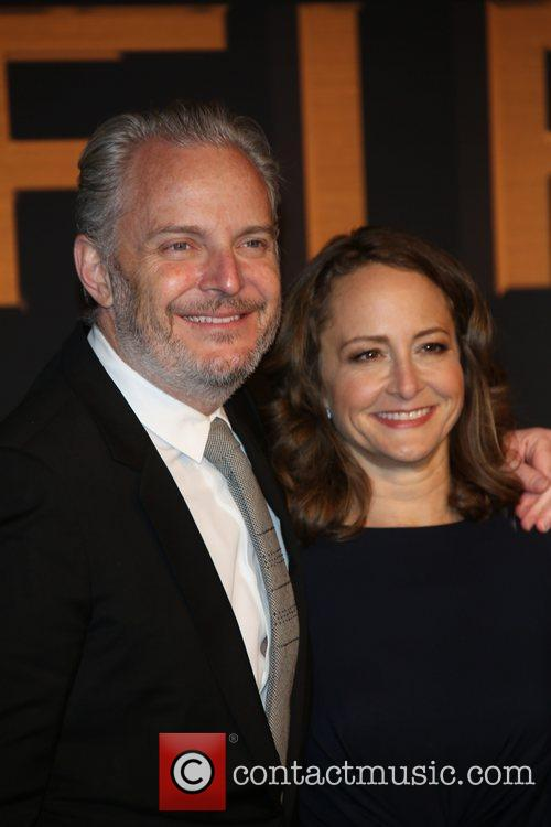 Francis Lawrence and Producer Nina Jacobson 3