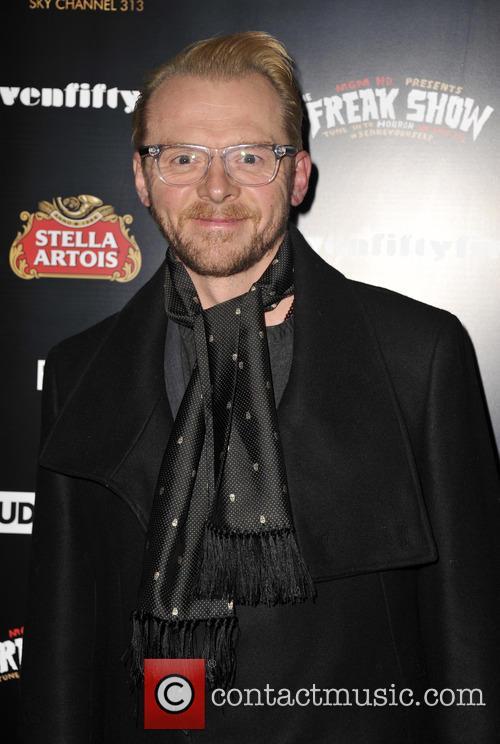 Simon Pegg, ICA