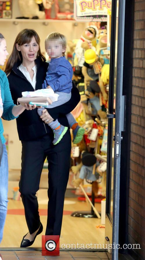 Jennifer Garner and Samuel Affleck 14