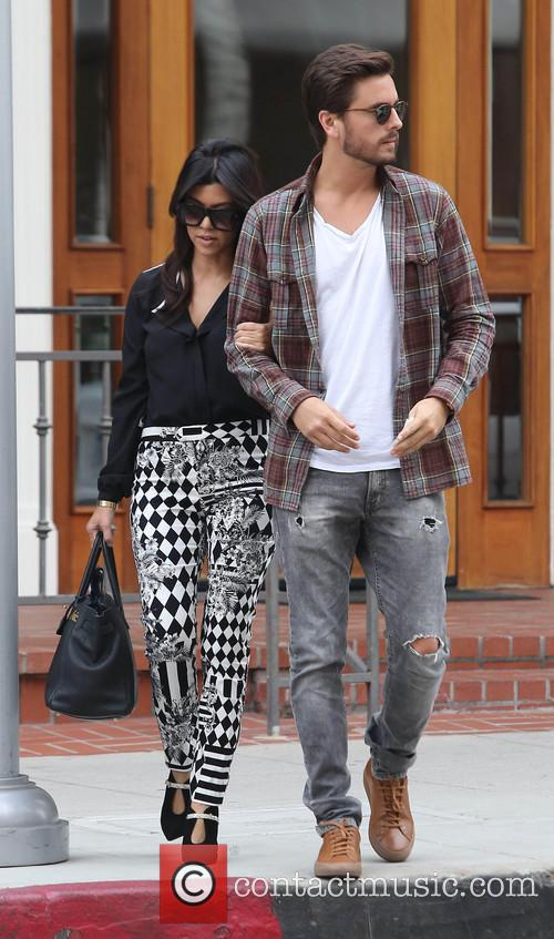 Kourtney Kardashian and Scott Disick 11