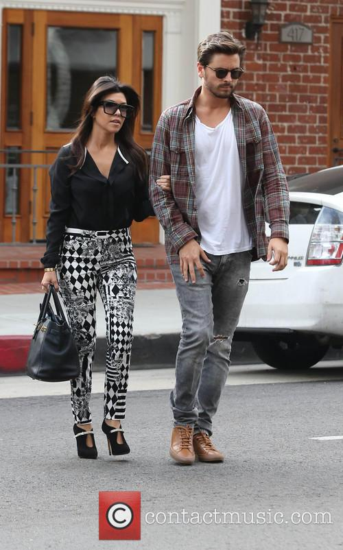 Kourtney Kardashian and Scott Disick 7