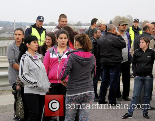 Bulgaria Refugees Protest