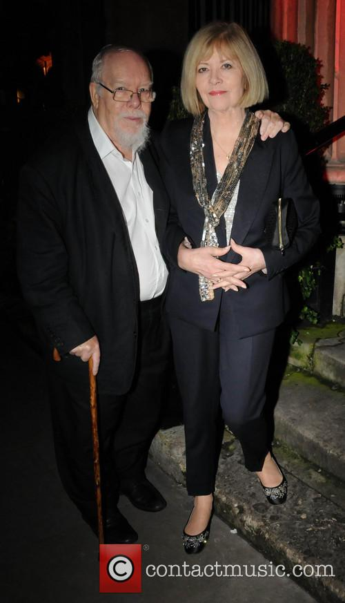 Sir Peter Blake and Lady Blake 2