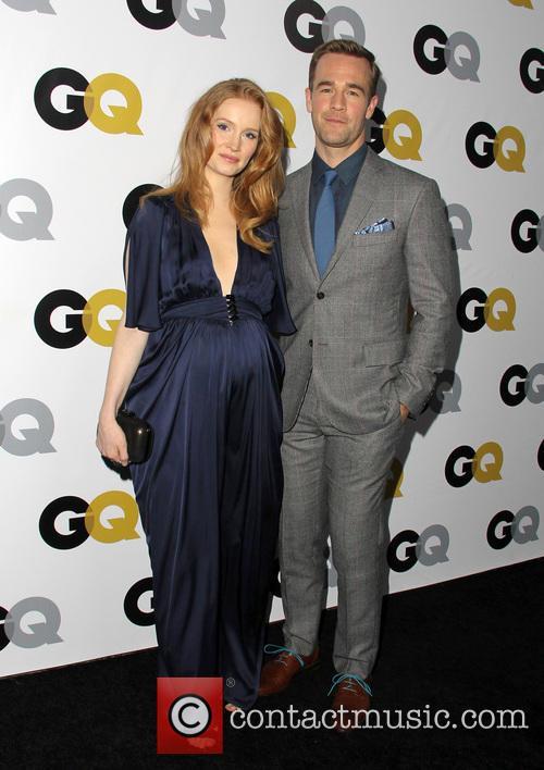 Kimberly Van Der Beek and James Van Der Beek 1