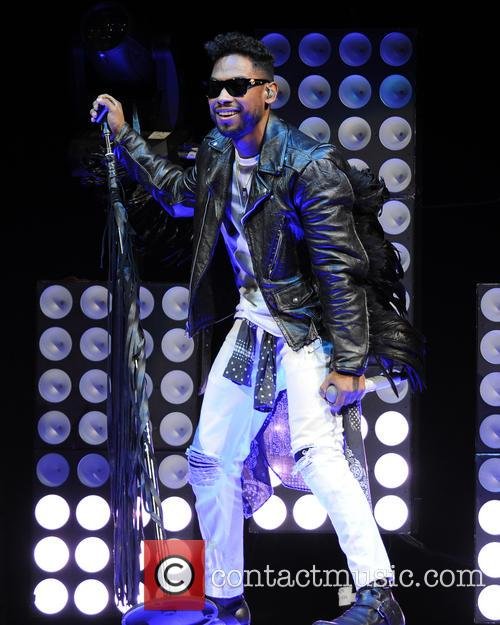 Miguel performing live in concert