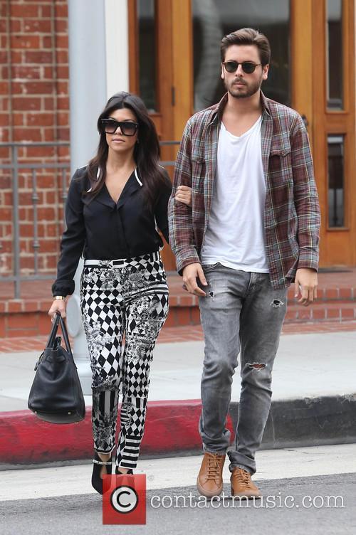 Kourtney Kardashian and Scott Disick 1