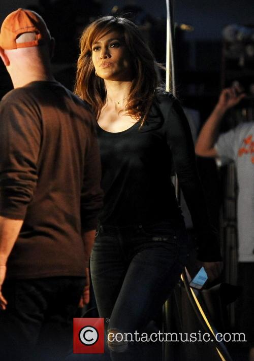 "Jennifer Lopez on the set of ""The Boy Next Door"""
