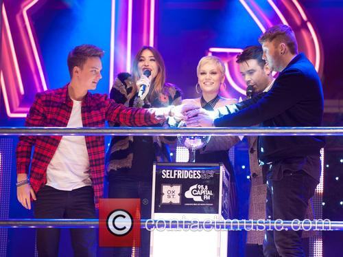 Conor Maynard, Lisa Snowdon, Jessie J, Dave Berry and James Arthur 9