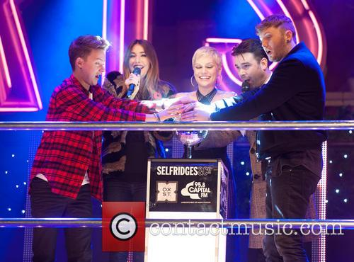Conor Maynard, Lisa Snowdon, Jessie J, Dave Berry and James Arthur 10