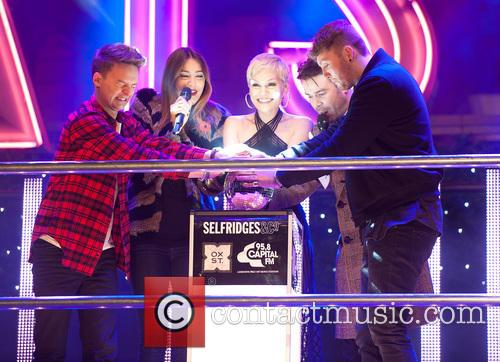 Conor Maynard, Lisa Snowdon, Jessie J, Dave Berry and James Arthur 11