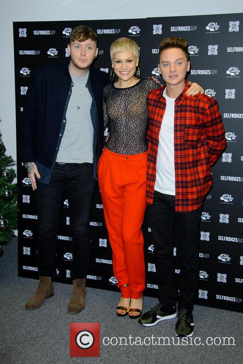 James Arthur, Jessie J and Conor Maynard 1