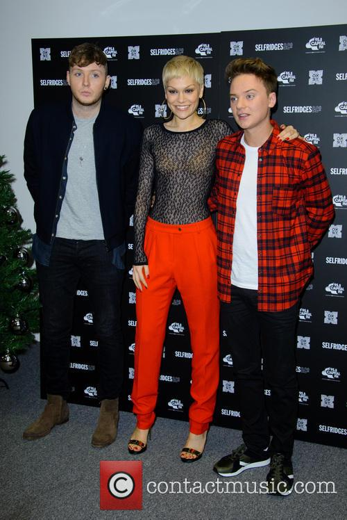 James Arthur, Jessie J and Conor Maynard 4