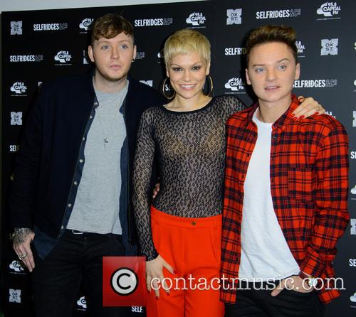 James Arthur, Jessie J and Conor Maynard 7