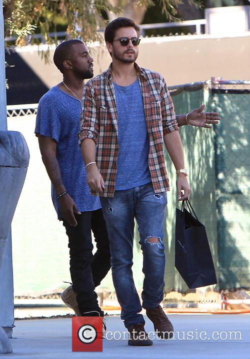 Kanye West and Scott Disick 1