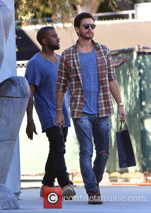 Kanye West and Scott Disick 7