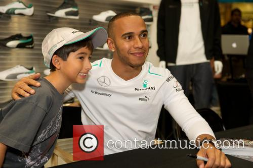 Guest and Lewis Hamilton 2