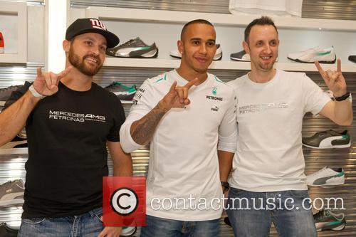 Steve Frampton and Lewis Hamilton 4