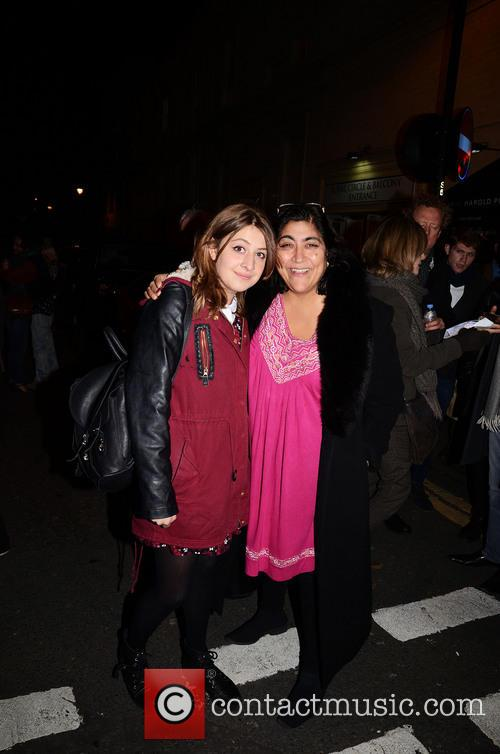Gurinder Chadha and Georgia Groome 2