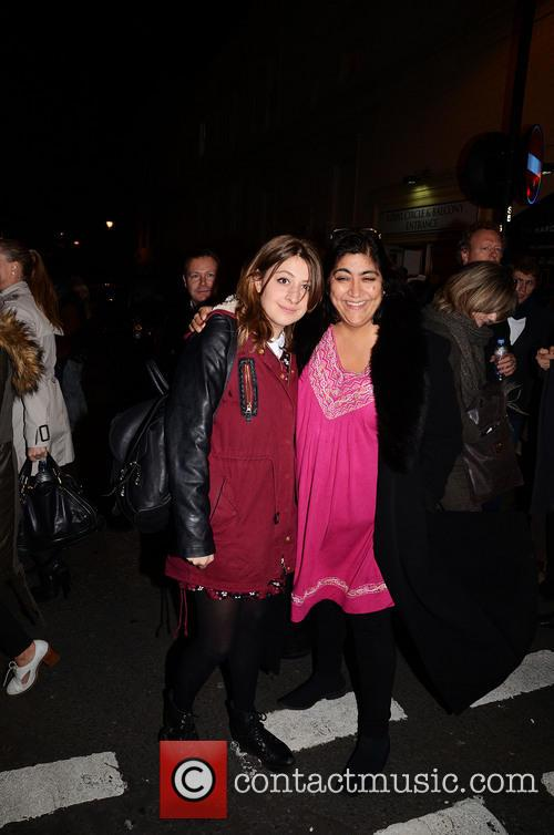 Gurinder Chadha and Georgia Groome 3