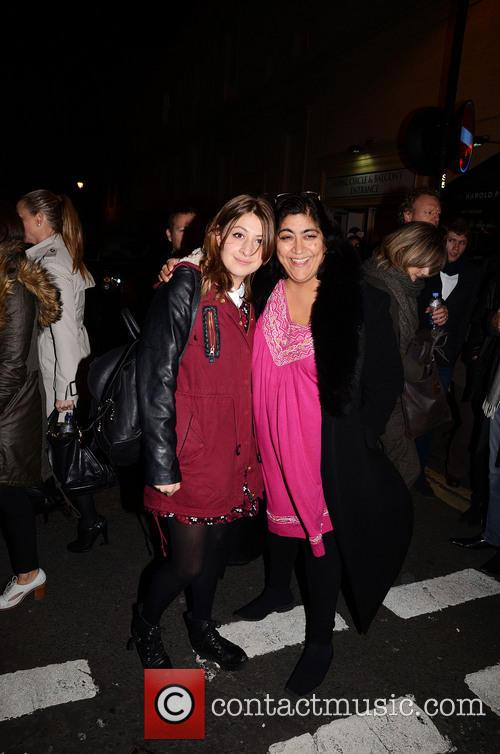 Gurinder Chadha and Georgia Groome 4