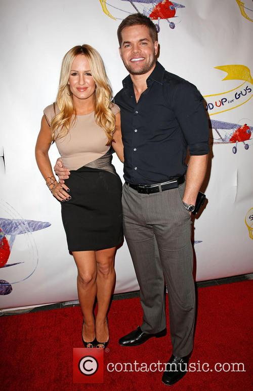 Jenn Brown and Wes Chatham