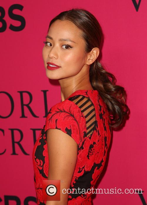 Jamie Chung, Lexington Avenue Armory, Victoria's Secret