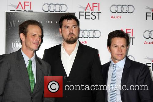 Peter Berg, Marcus Luttrell and Mark Wahlberg 4