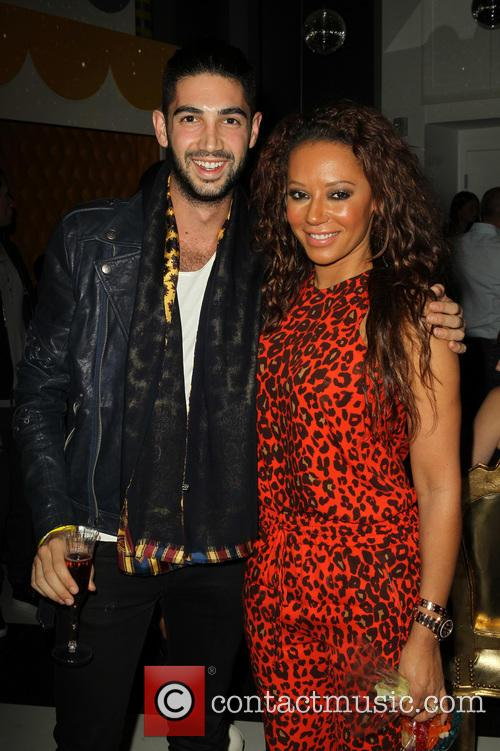 Daniel Shemtob, Mel B and Melanie Brown 3