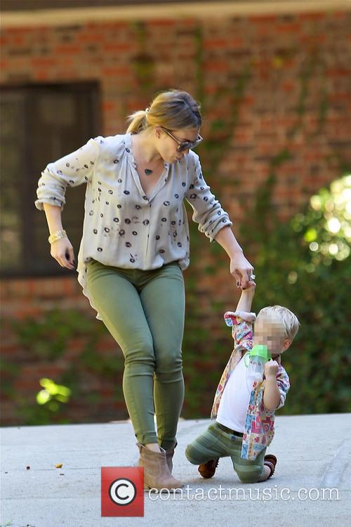 Hillary Duff and Luca Comrie 2