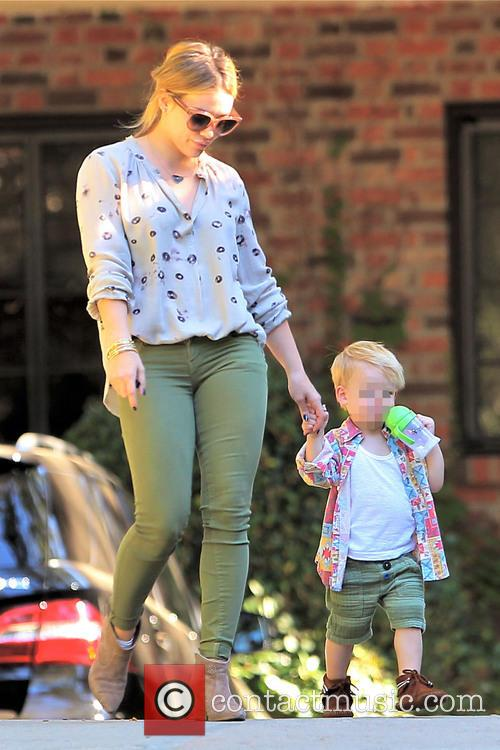 Hillary Duff and Luca Comrie 6