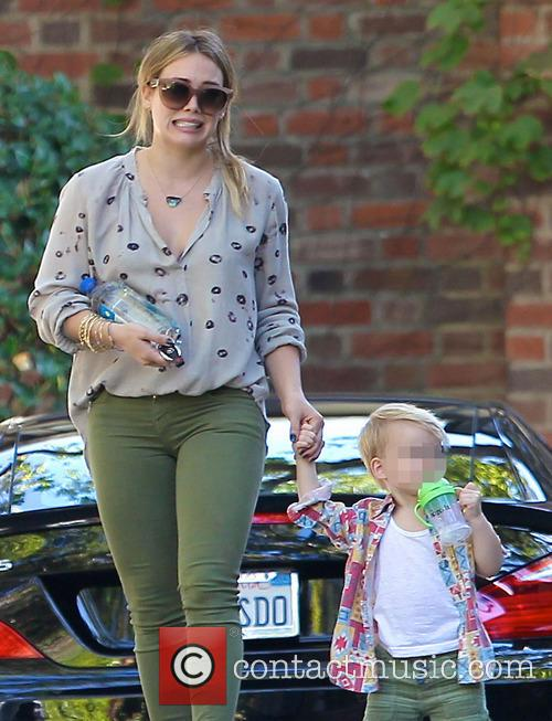 Hillary Duff and Luca Comrie 10