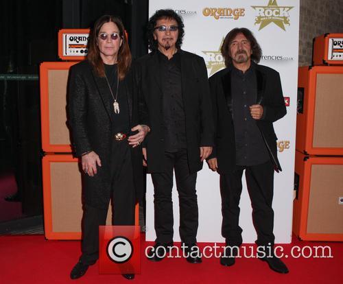 Ozzy Osbourne, Tony Iommi and Geezer Butler 2