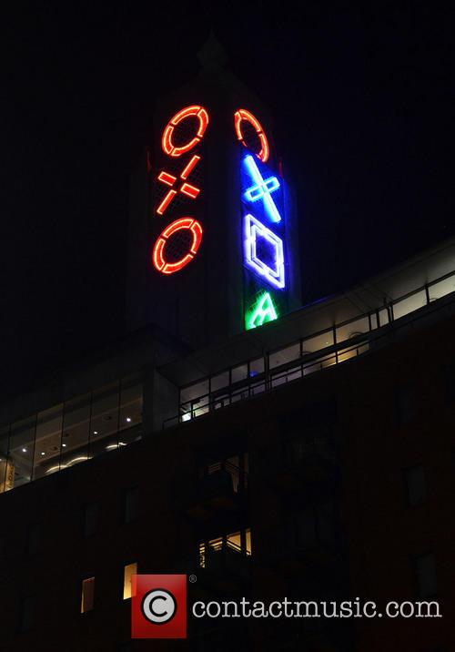 The OXO Tower was lit up last night...