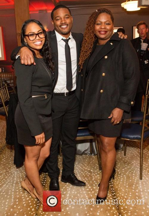 Celebration, Zinzi Evans, Ryan Coogler and Joselyn Coogler 2