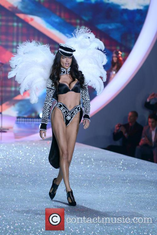 Adriana Lima at 2013 Victoria's Secret Fashion Show