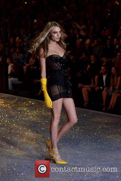 Cara Delevingne, Lexington Armory, Victoria's Secret