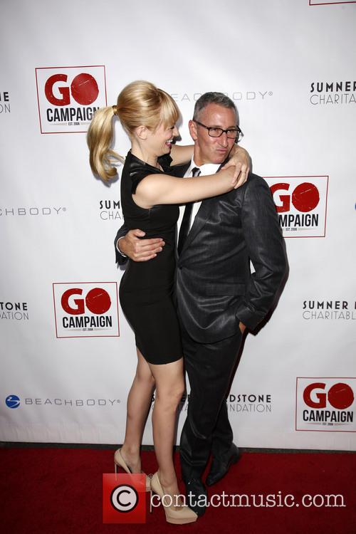Beth Behrs and Adam Shankman 5