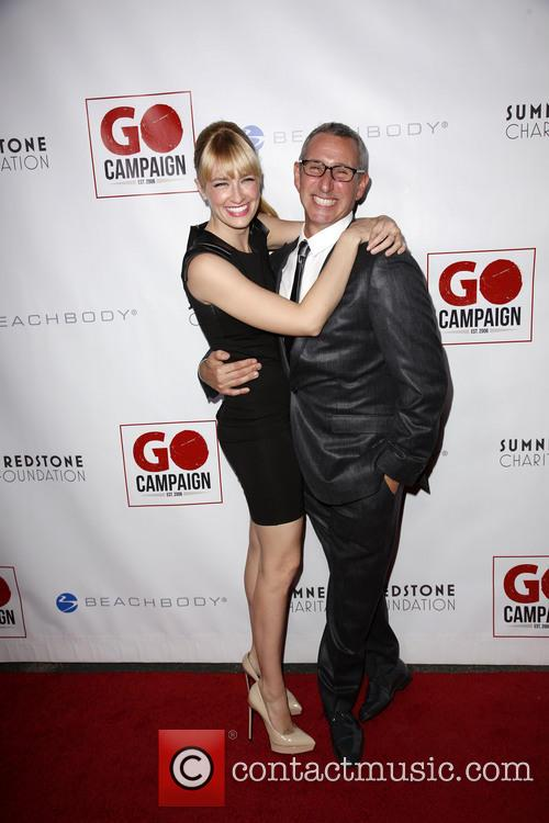 Beth Behrs and Adam Shankman 6