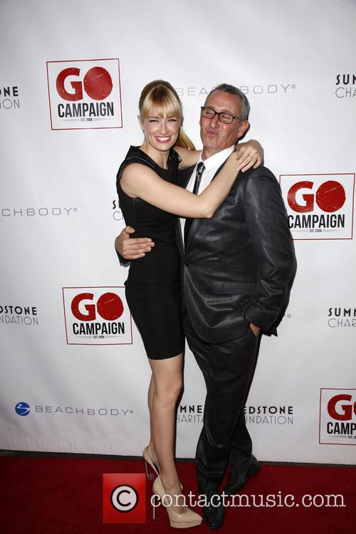 Beth Behrs and Adam Shankman 11
