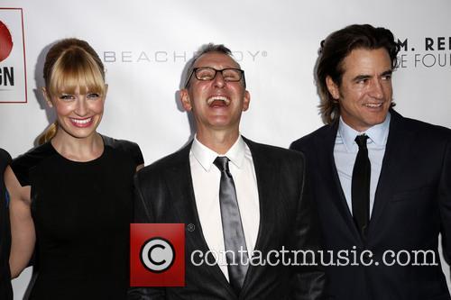 Beth Behrs, Adam Shankman and Dermont Mulroney 3