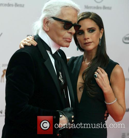 Karl Lagerfeld and Victoria Beckham 18