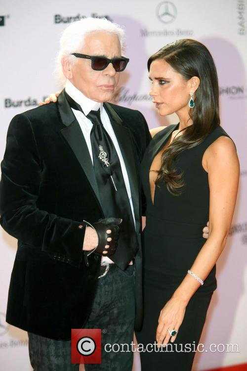 Karl Lagerfeld and Victoria Beckham 19